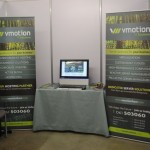 VMotion IT Solutions stand at Irish Innovation Showcase 2012